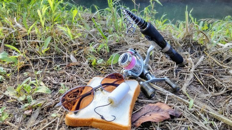 パン鯉タックル