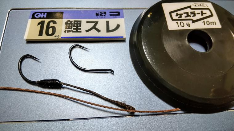 MP46竹のハリスと針